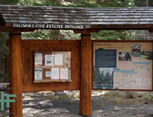 A Tahoe Signature Experience: Tallac Historic Site